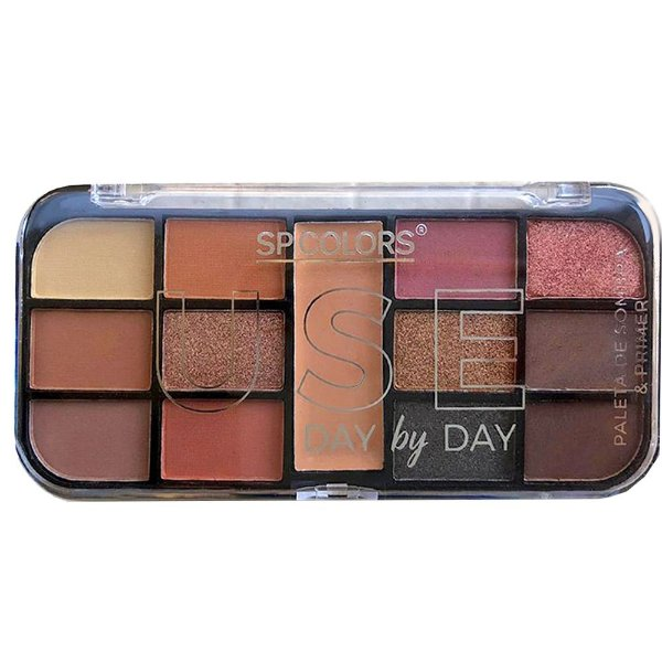 Paleta de Sombras + Primer SP Colors Use day by day