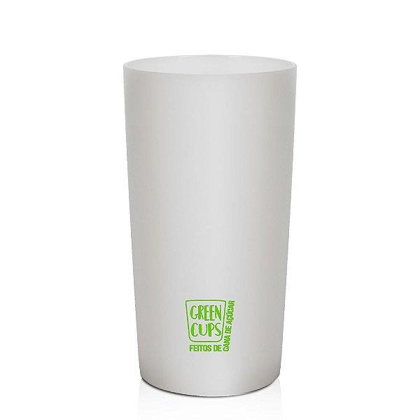 Green Cups Branco 280ml - Copo Eco Cana de Açúcar