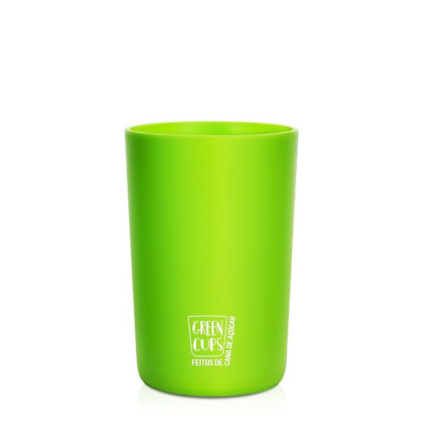 Green Cups Verde 200ml - Copo Eco Cana de Açúcar