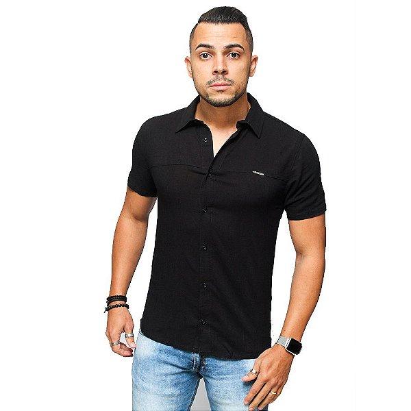 Camisa Slim Linho Brothers