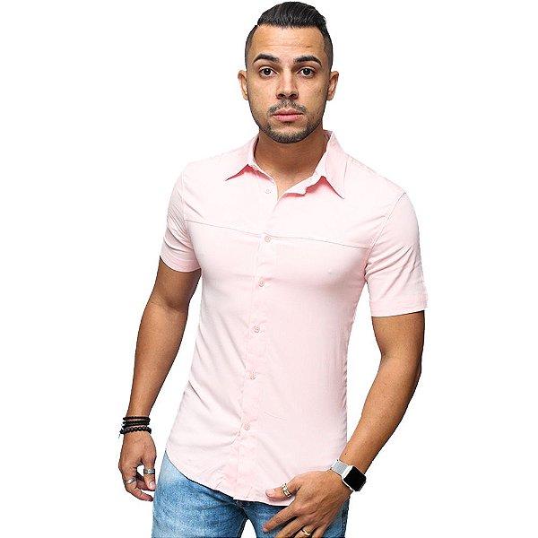 Camisa Slim  Viscose Brothers