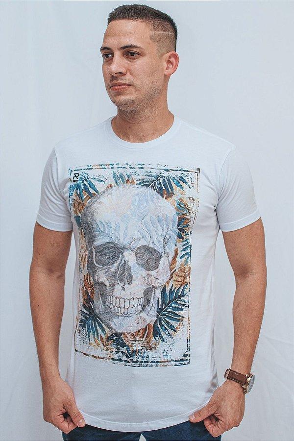 Camiseta Long Brothers Summer Skull