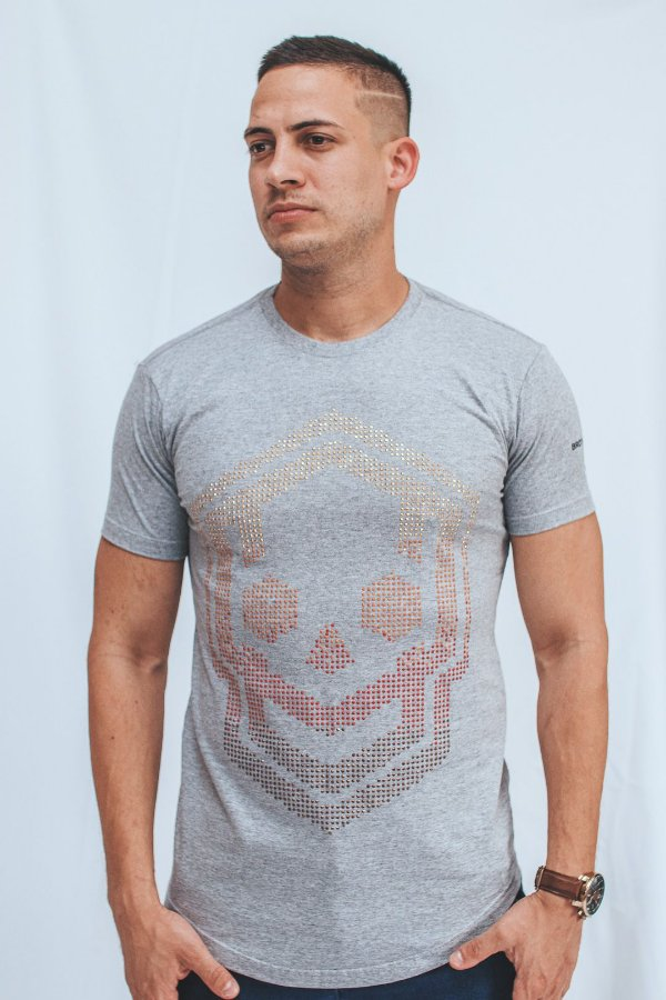 Camiseta Long Brothers Castle Skull