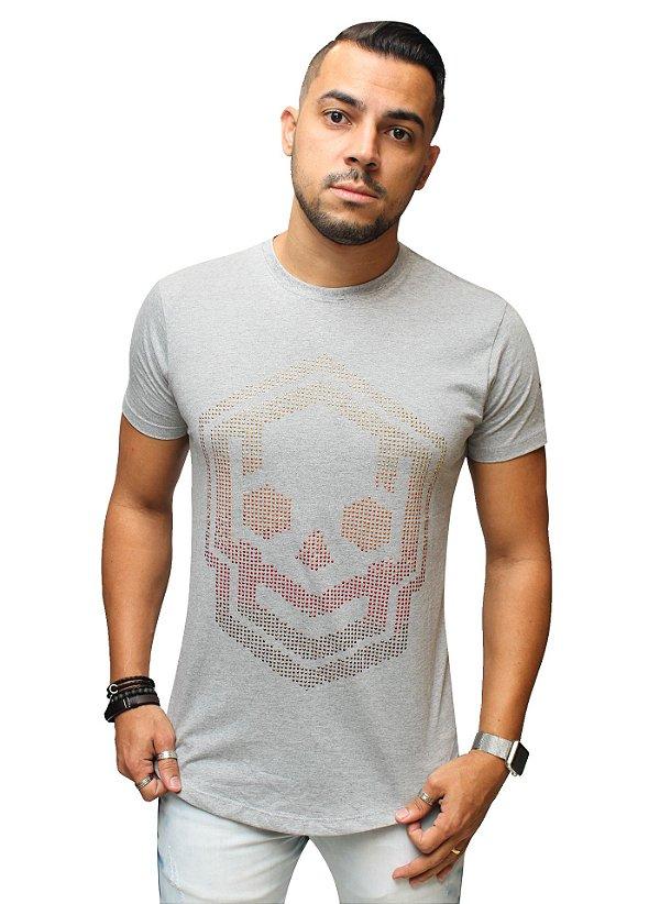 Camiseta Long Brothers Castle Skull