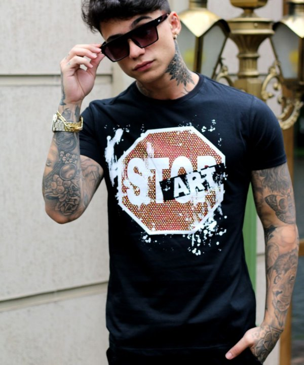 Camiseta Long Brothers Stop