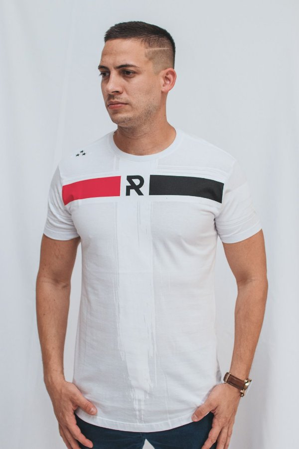 Camiseta Long Brothers Tricolor