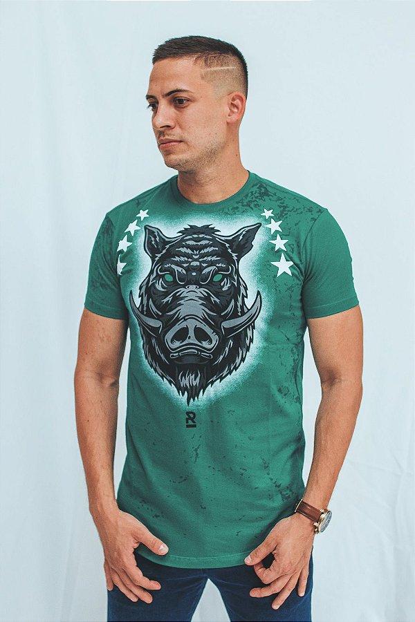 Camiseta Long Brothers Verdão