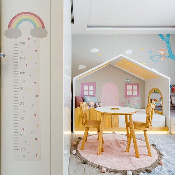 Tapete Infantil 1,20 de Diâmetro Lorena Canals Bubbly Soft Rosa