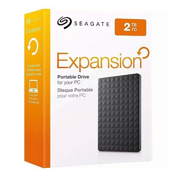 HD EXTERNO SEAGATE EXPANSION PORTATIL 2TB