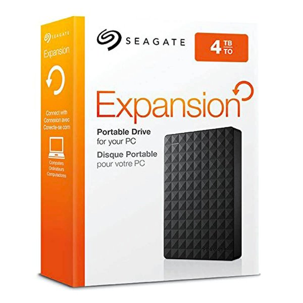 HDD EXTERNO SEAGATE EXPANSION PORTATIL 4TB USB 3.0