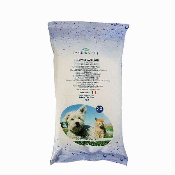 TAKE & CARE lenços descartáveis para higiene