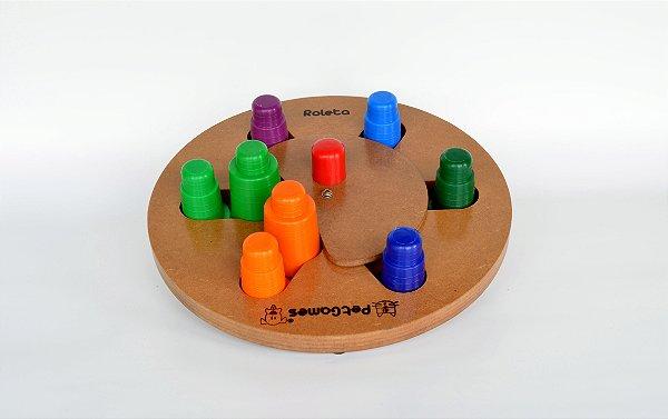PET GAMES Tabuleiro Roleta