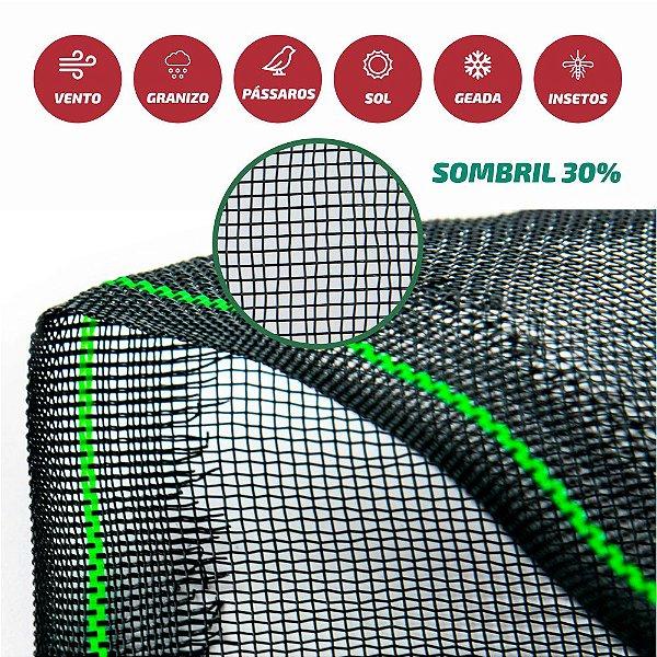 Tela Monofilamento Sombril 30% 1,50x50M