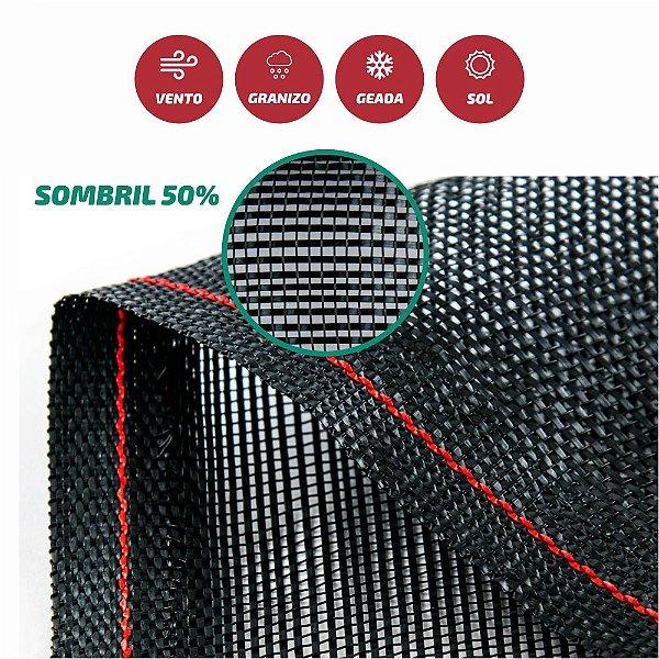 Tela Monofilamento Sombril 50% 1,50x50M