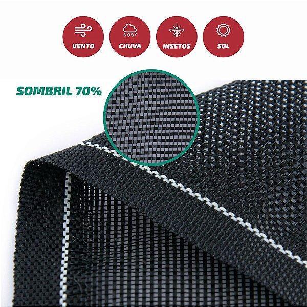 Tela Monofilamento Sombril 70% 1,50x50M