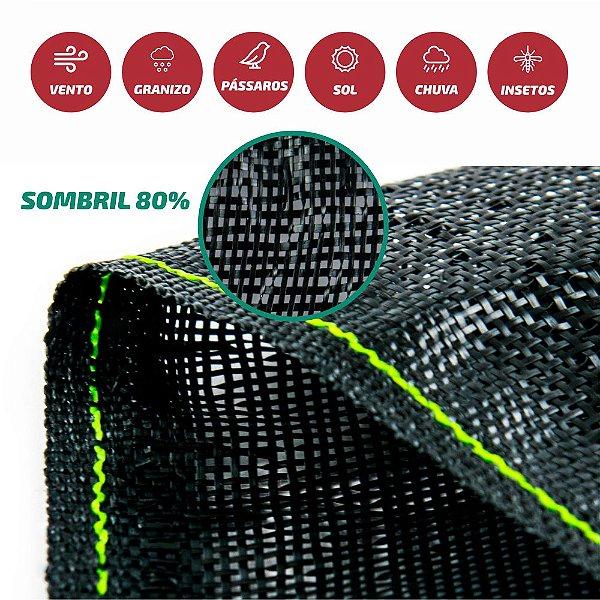Tela Monofilamento Sombril 80% 3x50M
