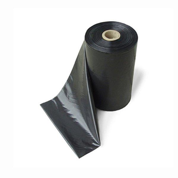 Lona Plástica Preta 6x100 75 KG Ref 200 Extra Forte