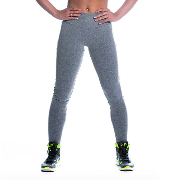 Legging Supplex Mescla Cinza Movimento e Cia