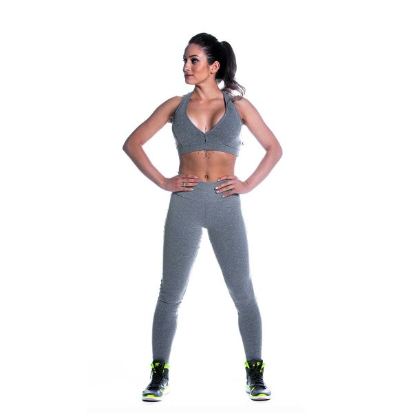 Conjunto Top e Legging Supplex Básico Cz Movimento e Cia