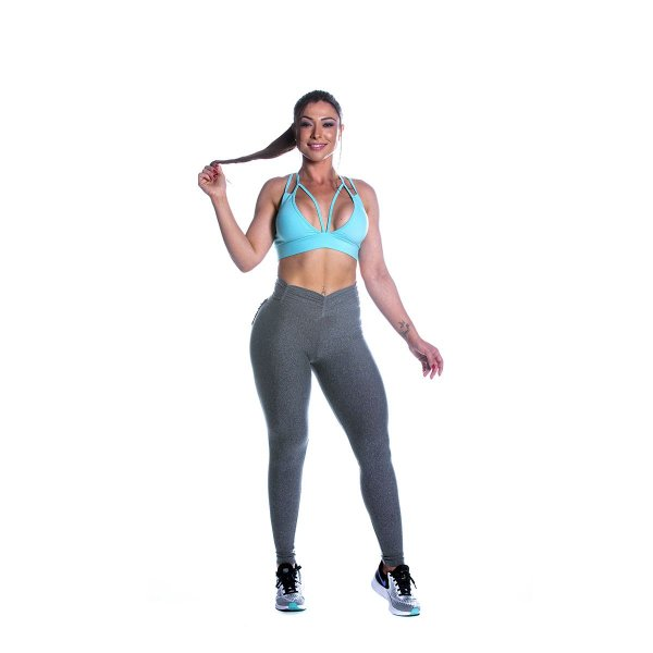 Conjunto Top e Legging Strappy Movimento e Cia