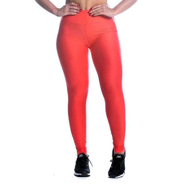 Legging Light Power Laranja  Movimento e Cia
