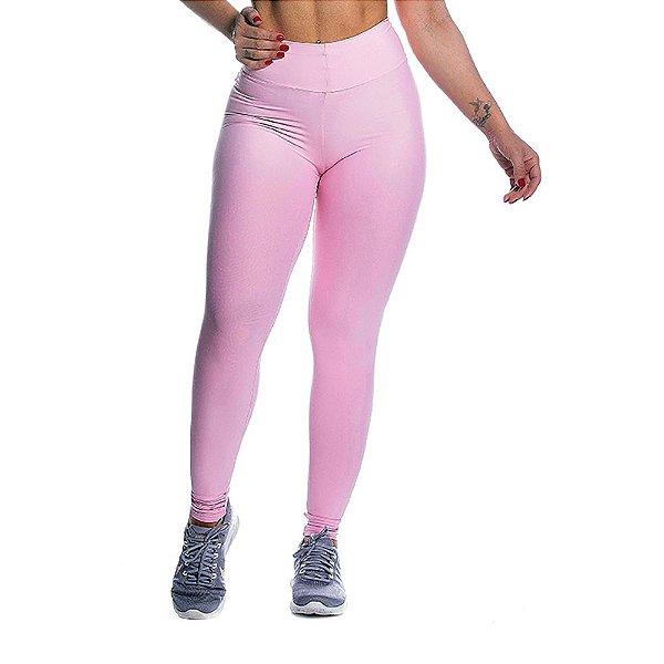 Legging Light Power Rosa Iogurte Movimento e Cia