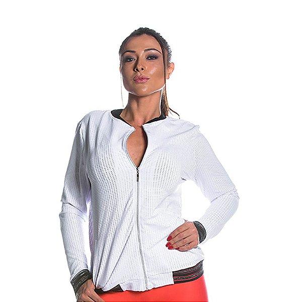 Jaqueta Aerobic Branca Movimento e Cia