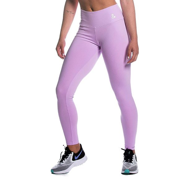 Legging Supplex Rosa Suave Movimento e Cia