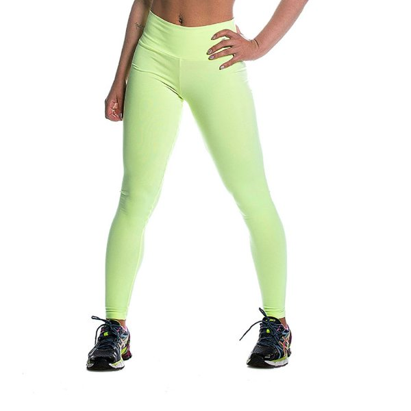 Legging Supplex Limão Movimento e Cia