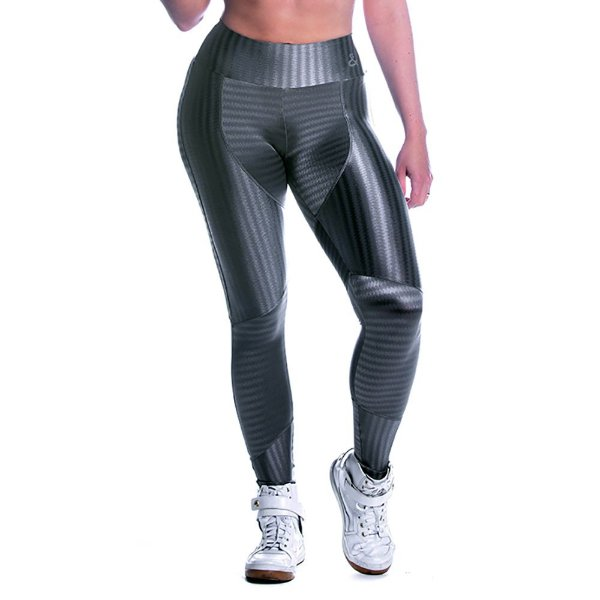 Legging Oregon Recorte Prata Movimento e Cia