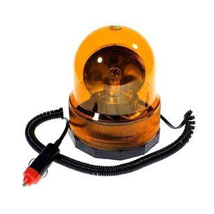 Luz de Emergência Giratória 12V Amarela GRFL0001 STORM
