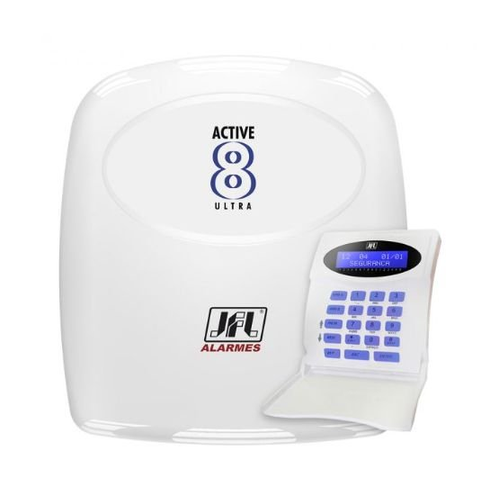 CENTRAL DE ALARME ACTIVE 8 ULTA LCD R