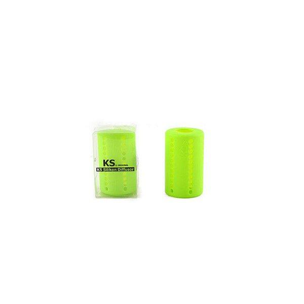 Difusor de Silicone KS Verde