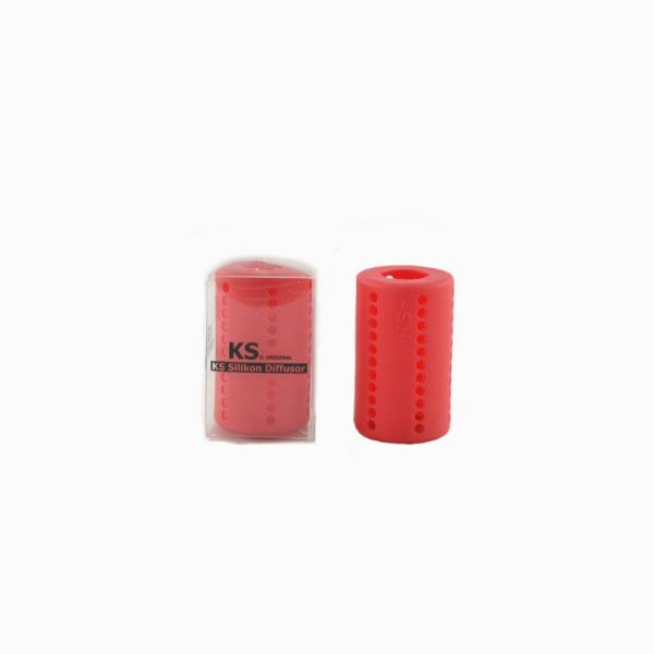 Difusor de Silicone KS Vermelho