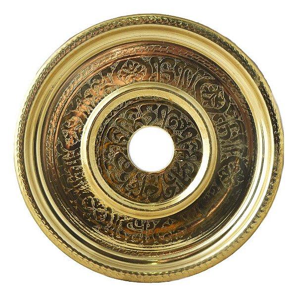 Prato Tradicional Turkish Flat Gold