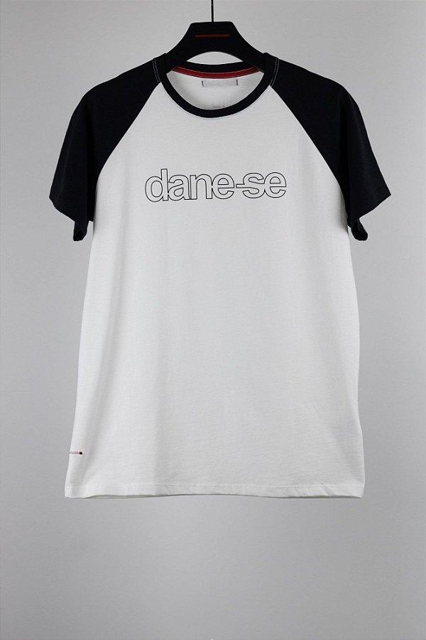 camiseta dane-se raglan p&b