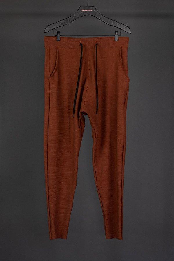 calça saruel marrom