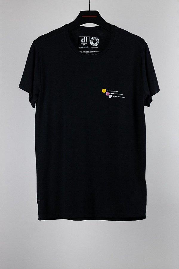 camiseta ipê comfy preto