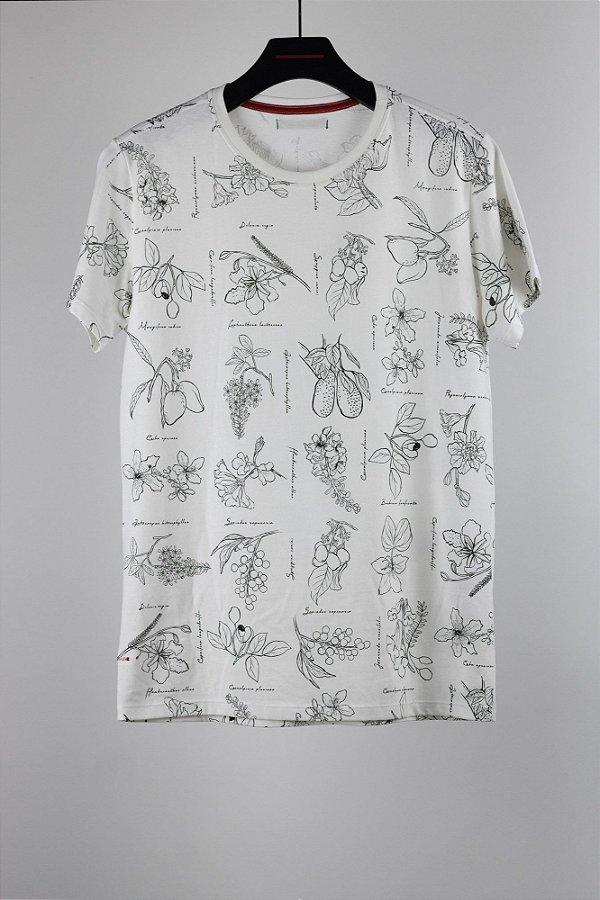camiseta botânica off