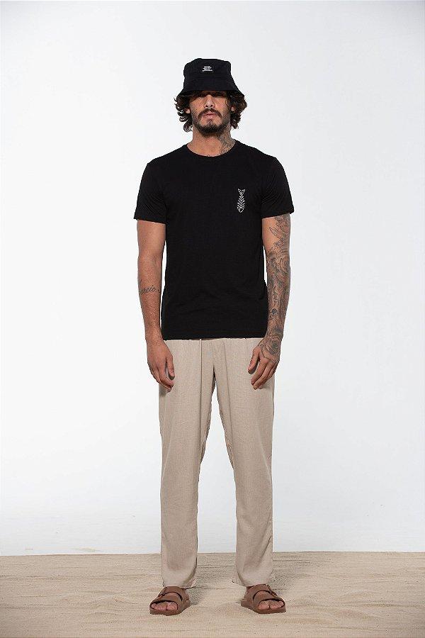 camiseta caiu na rede preto