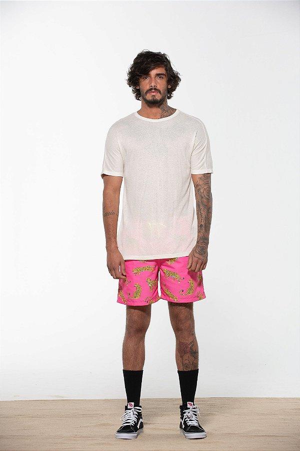 camiseta linha collection cru