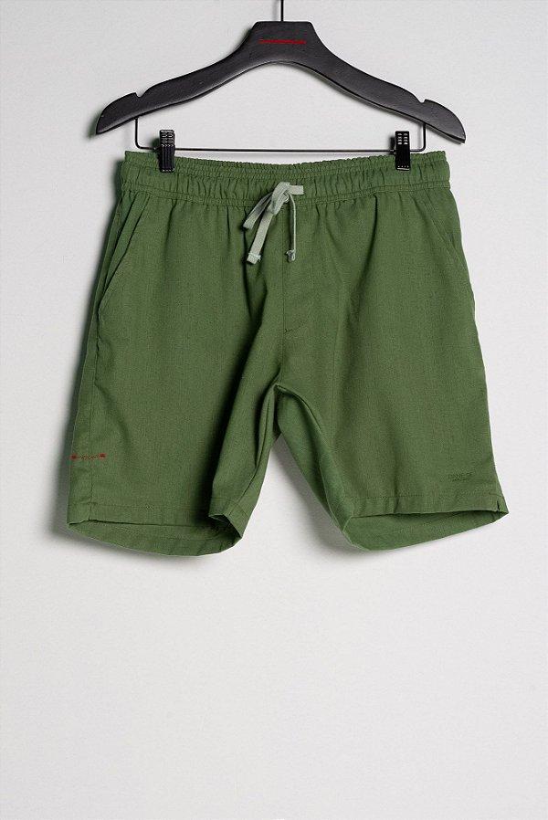 short linho verde