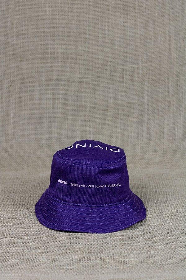 bucket hat divino roxo