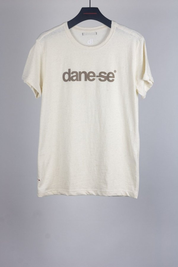 camiseta dane-se linho cru