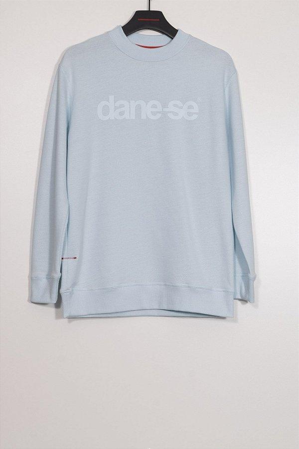 blusa moletom dane-se azul