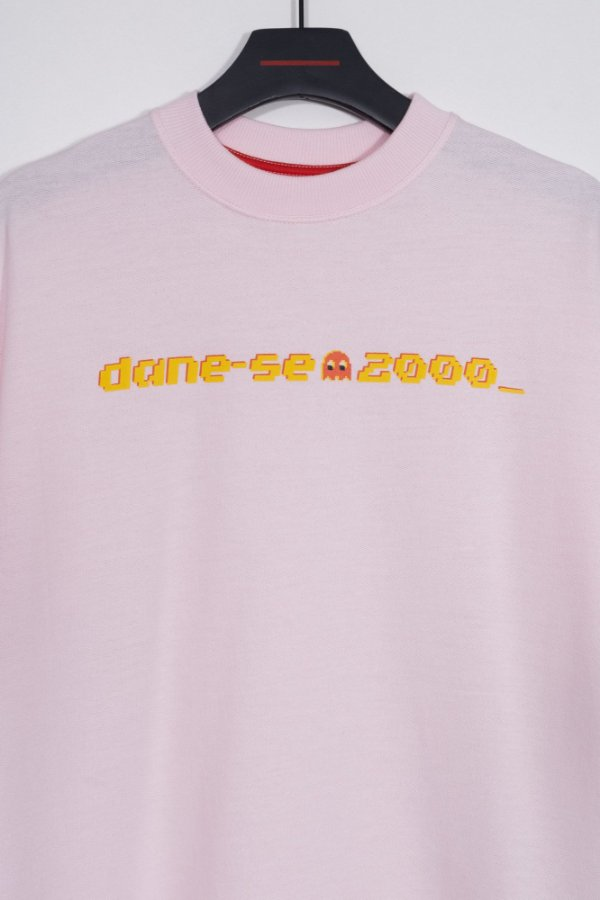 camiseta over dane-se 2000 rosa