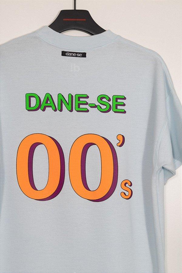 camiseta over dane-se 00s azul