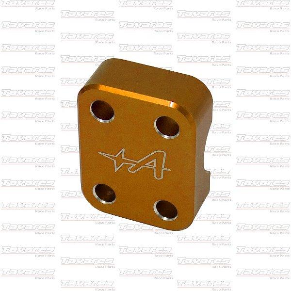 Mancal do Eixo Dianteiro CRF250f CRF230 Anodizado Dourado