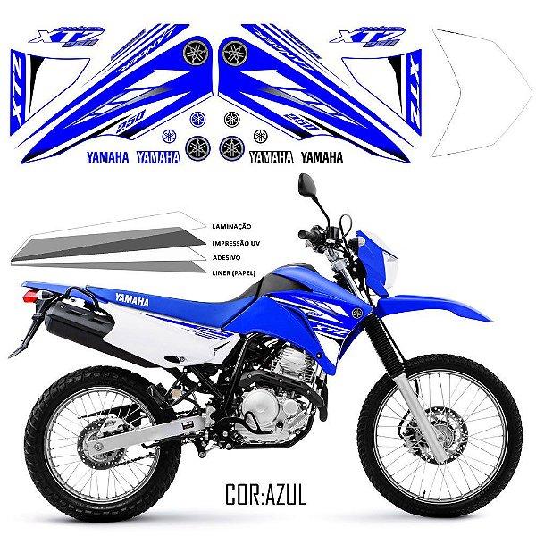 FAIXA Lander 250 azul grafismo 2018
