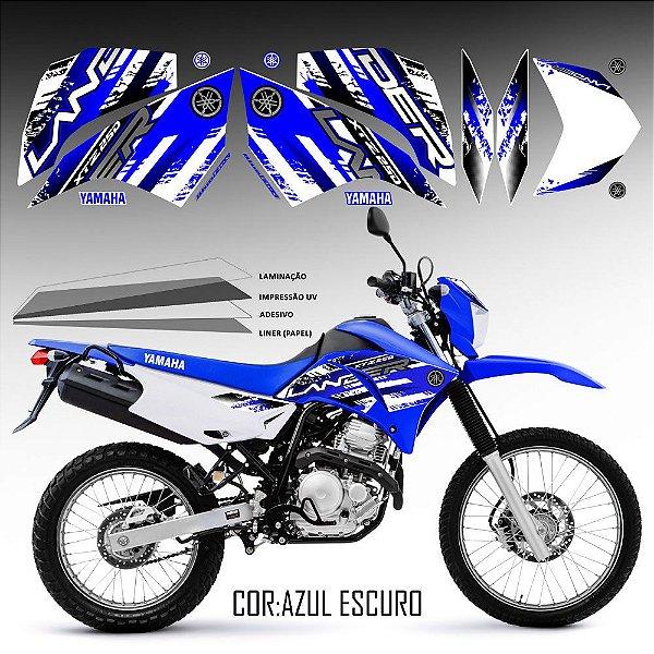 FAIXA Lander 250 azul grafismo 2018 especial